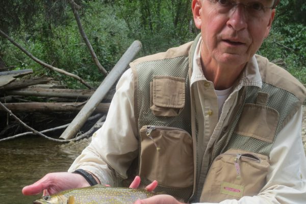Bruce Northcott on Teton Creek